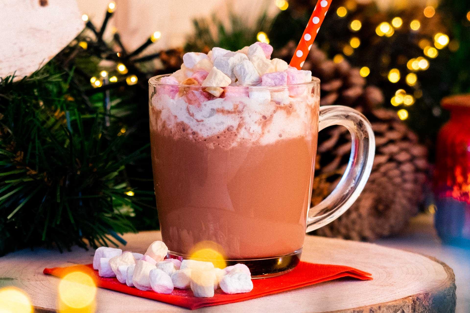 Kakao mit marshmallows